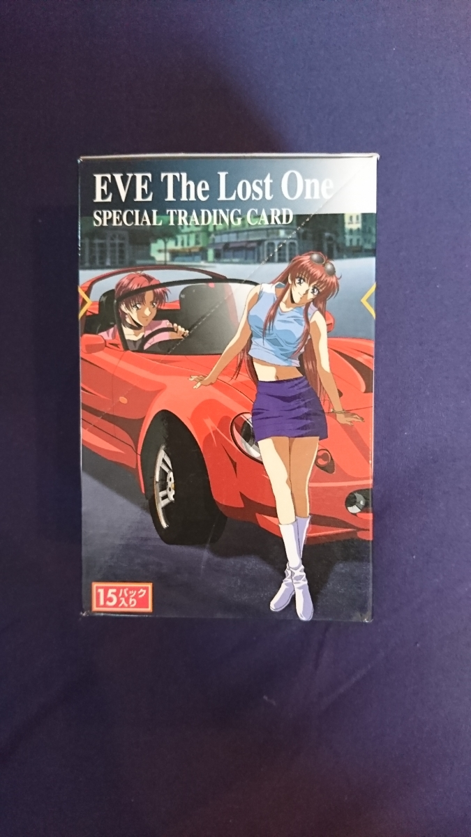 EVE The Lost One イヴ・ザ・ロスト・ワン トレーディングカード 1BOX 1箱_画像2