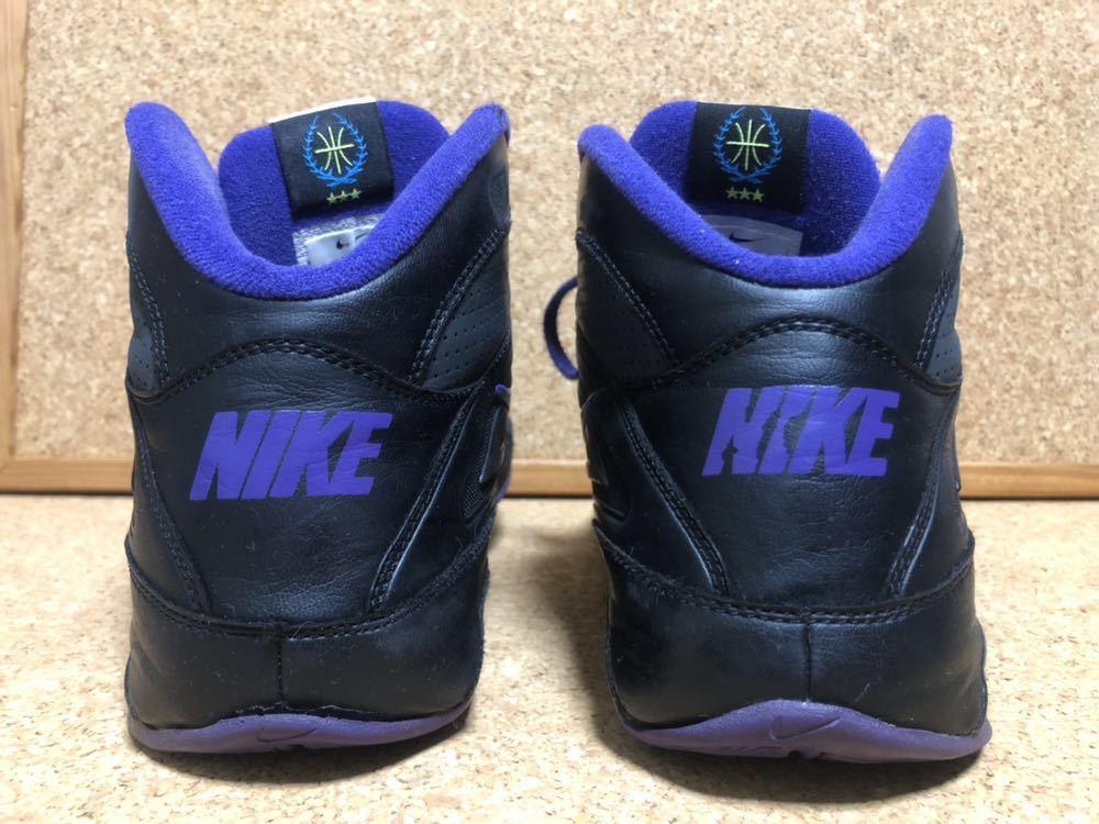 ナイキ Nike AIR VISI PRO3 パープル×ブラック×グレー 27cm USED_画像3