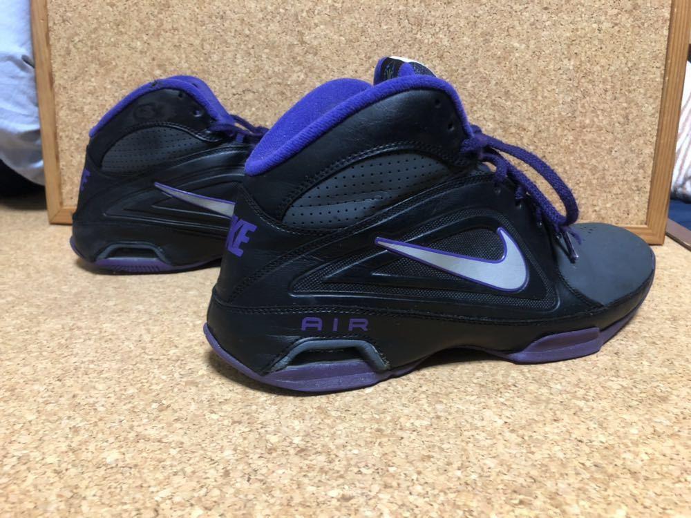 ナイキ Nike AIR VISI PRO3 パープル×ブラック×グレー 27cm USED_画像8