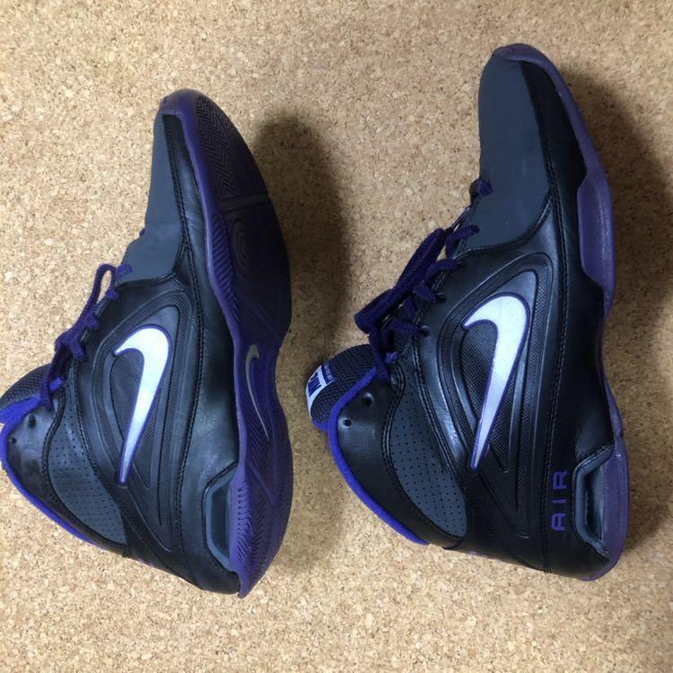 ナイキ Nike AIR VISI PRO3 パープル×ブラック×グレー 27cm USED_画像7