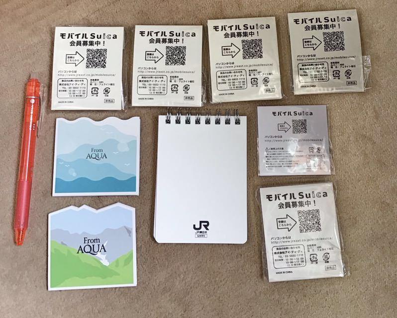 Suica ペンギン マグネット・メモ帳・シール・フリクション 色々/JR東日本 さかざきちはる_画像2