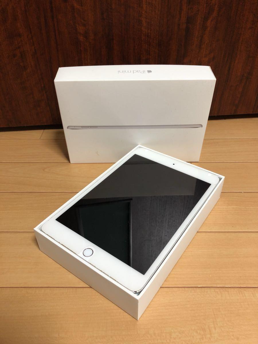 ジャンク iPad mini 4 MNWF2J/A 32GB A1550 シルバー Wi-Fi アクティベーション