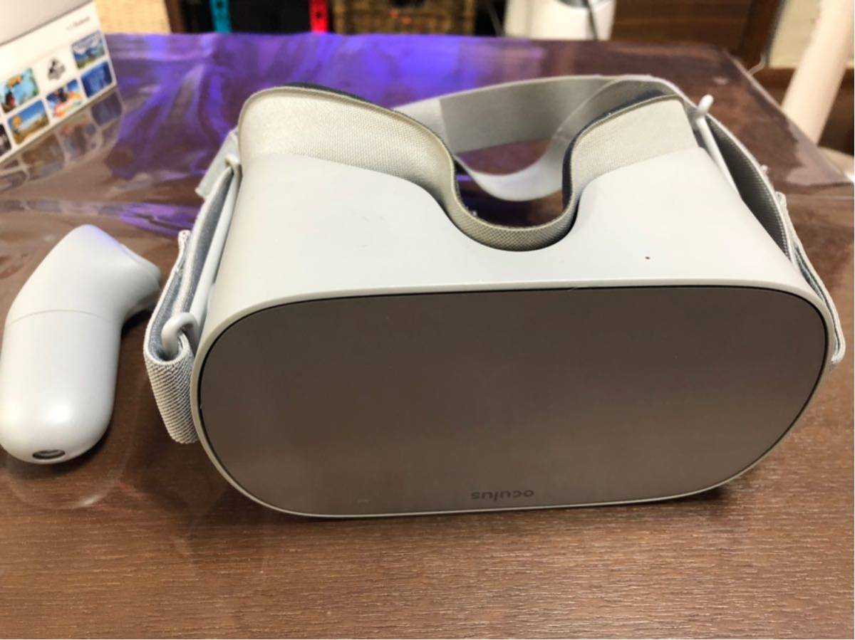 美品 送料込み Oculus Go 64GB 中古使用頻度10時間程度_画像2