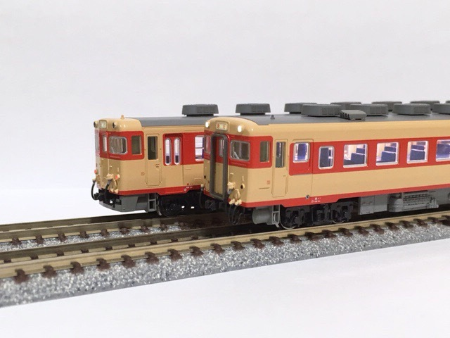 ◯KATO 6117 キハ65 + 6113 キハ58(M)動力,トレーラ改善 改良 調整加工 限定《企画品》_画像4