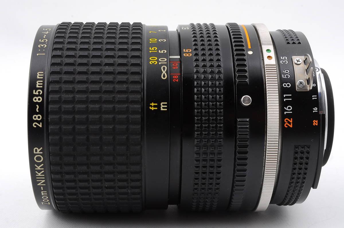 ★希少銘玉★ニコン Nikon Ai-s Zoom NIKKOR 28-85mm F3.5-4.5♯1838_画像4