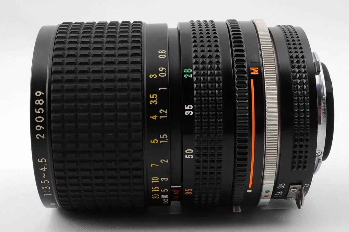 ★希少銘玉★ニコン Nikon Ai-s Zoom NIKKOR 28-85mm F3.5-4.5♯1838_画像3