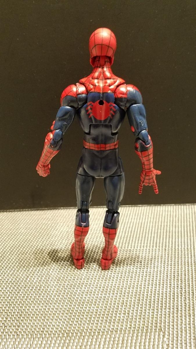 SDCC限定 スパイダーマン 同時購入値引 マーベルレジェンド レア 限定ヘッド フィギュアーツやMafex等とのディスプレイにも_画像3