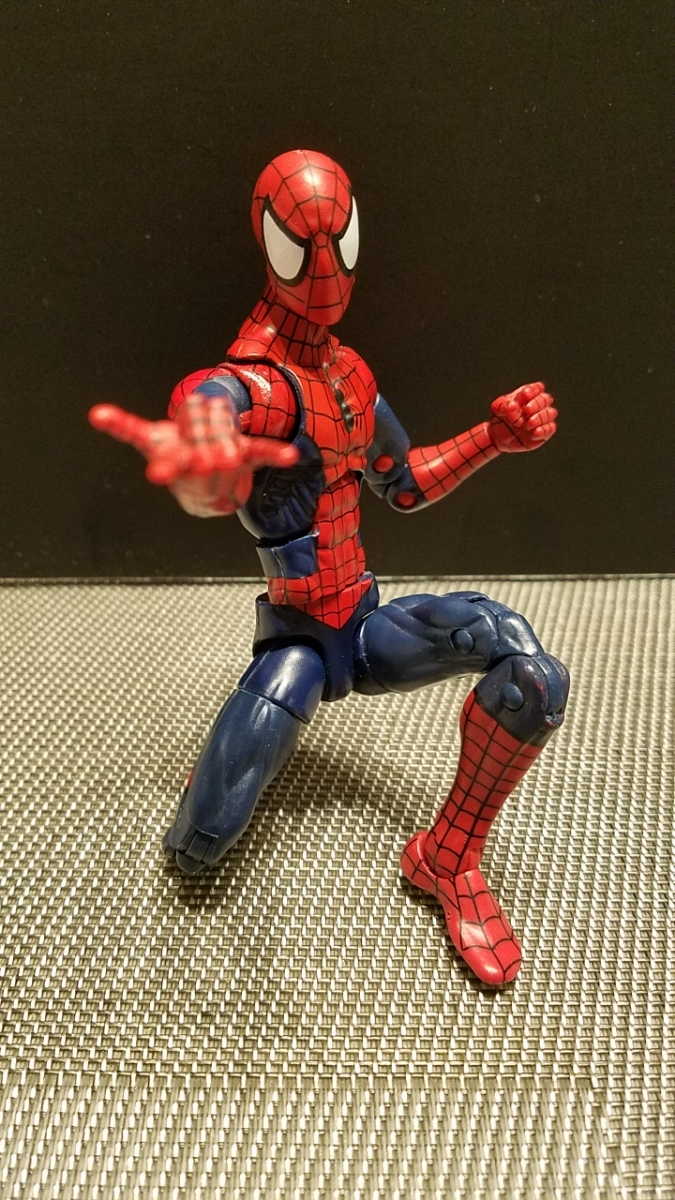 SDCC限定 スパイダーマン 同時購入値引 マーベルレジェンド レア 限定ヘッド フィギュアーツやMafex等とのディスプレイにも