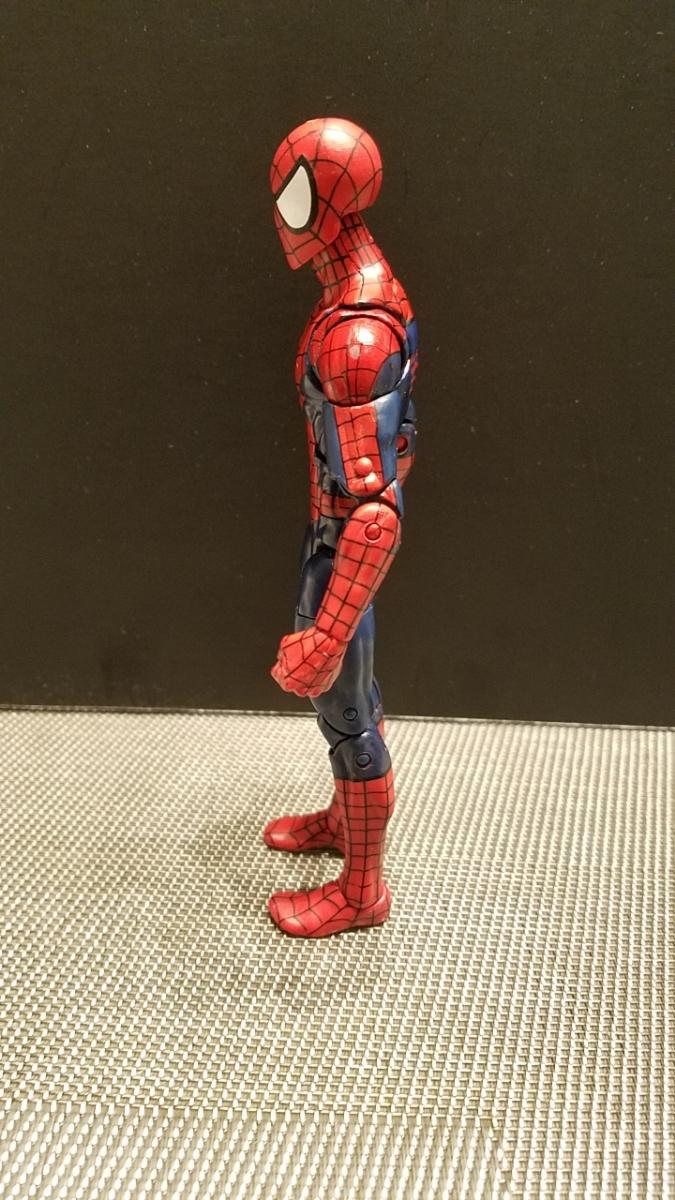 SDCC限定 スパイダーマン 同時購入値引 マーベルレジェンド レア 限定ヘッド フィギュアーツやMafex等とのディスプレイにも_画像5