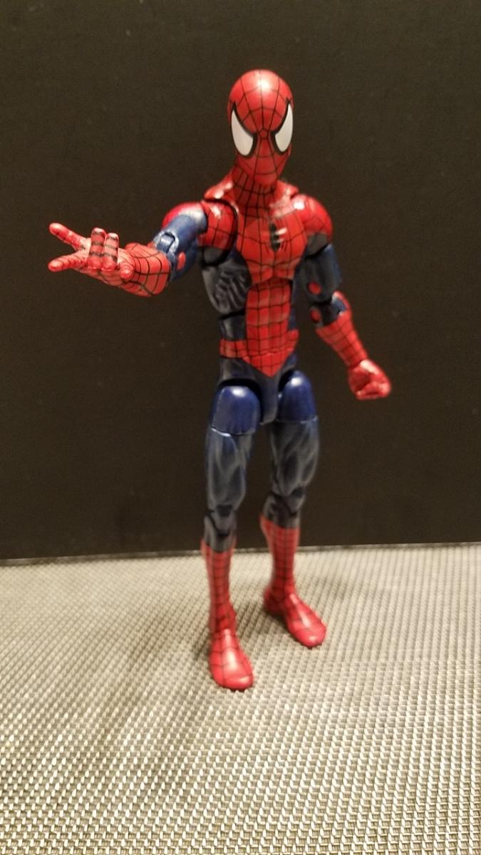 SDCC限定 スパイダーマン 同時購入値引 マーベルレジェンド レア 限定ヘッド フィギュアーツやMafex等とのディスプレイにも_画像6