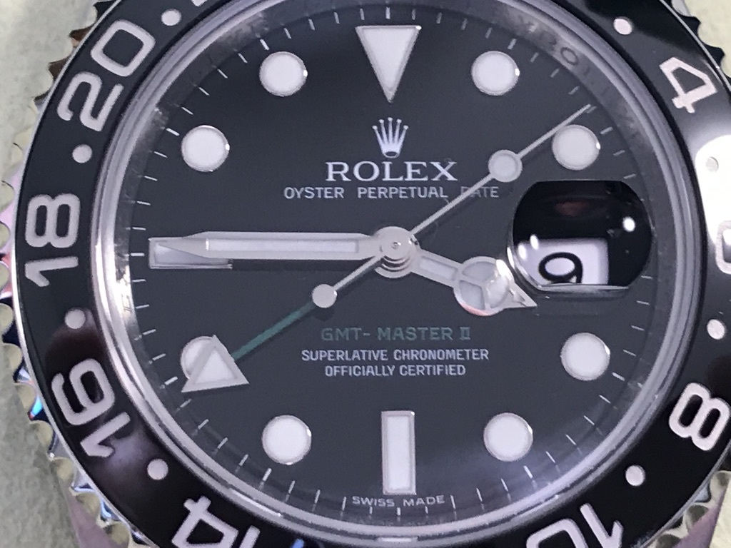 ロレックス GMTマスターⅡ 116710LN  O/H済_画像4