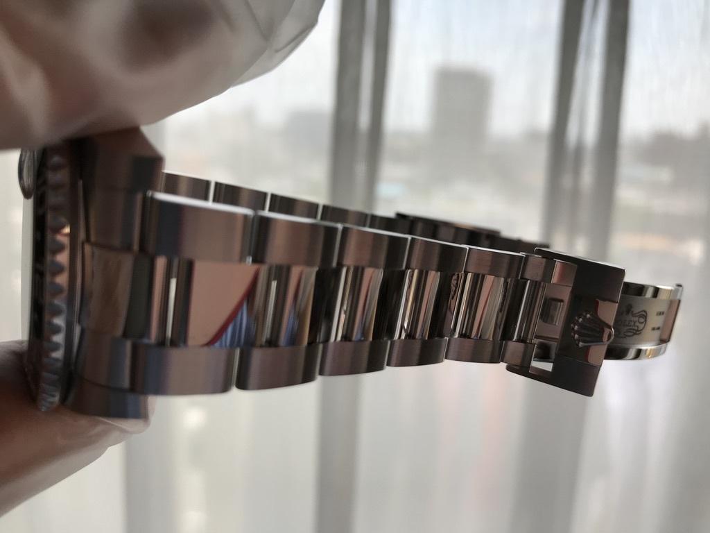 ロレックス GMTマスターⅡ 116710LN  O/H済_画像8