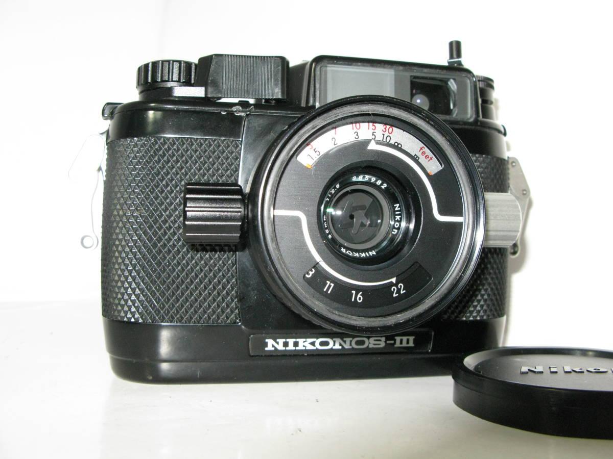 Nikon NIKONOS ニコノス Ⅲ (35mmf2.5付き) ■ 10550