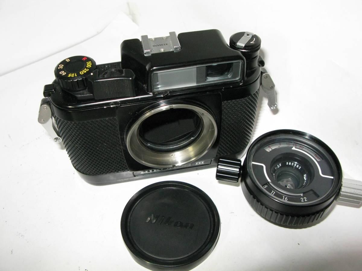 Nikon NIKONOS ニコノス Ⅲ (35mmf2.5付き) ■ 10550 _画像2