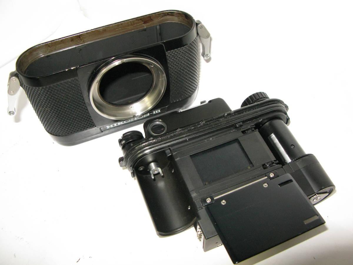 Nikon NIKONOS ニコノス Ⅲ (35mmf2.5付き) ■ 10550 _画像7