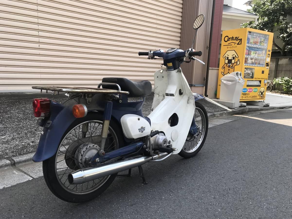 東京葛飾区発 HONDA スーパーカブ 50 STD SuperCub 50 C50 エンジン好調 お買得 _画像2
