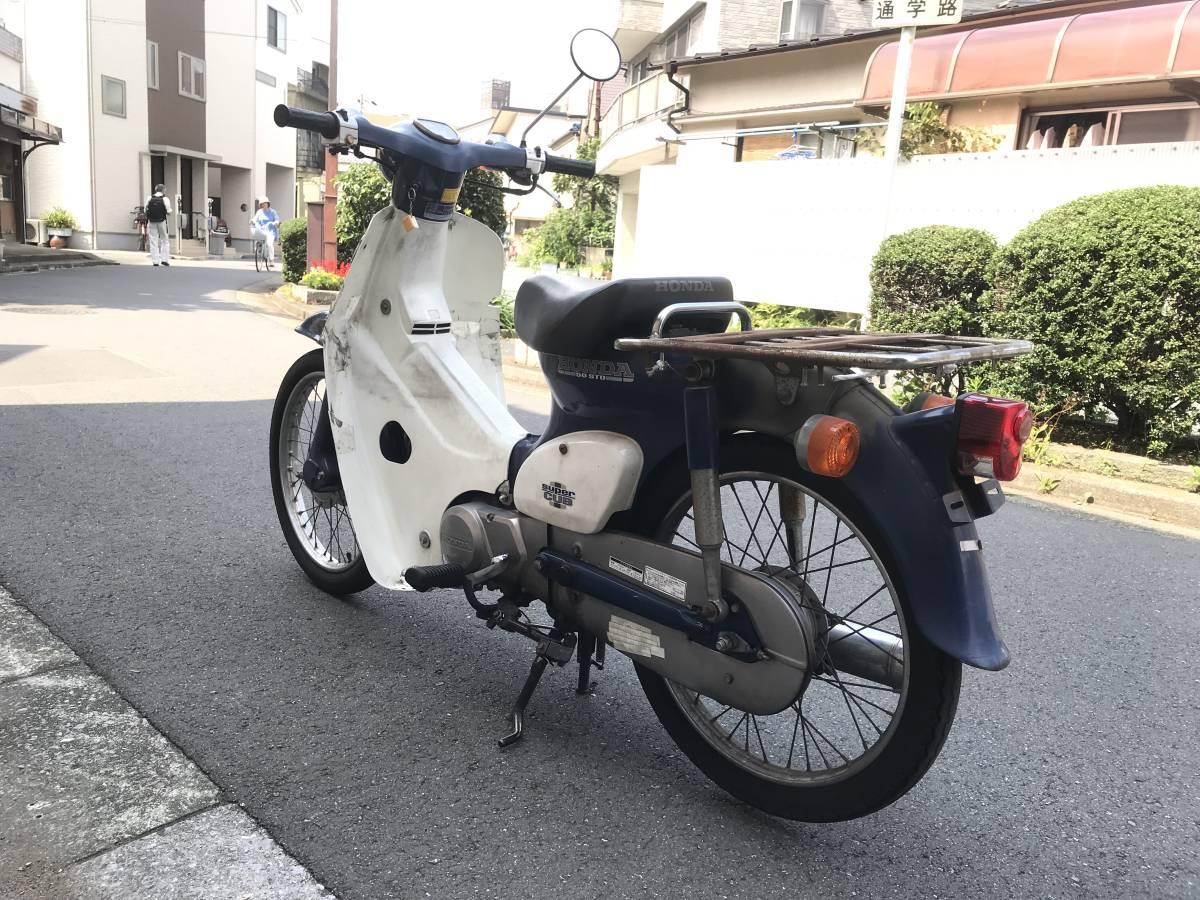 東京葛飾区発 HONDA スーパーカブ 50 STD SuperCub 50 C50 エンジン好調 お買得 _画像4
