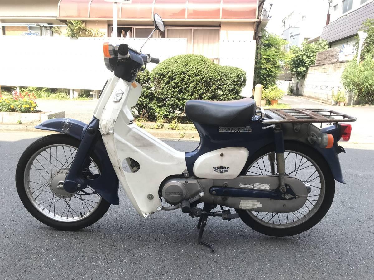 東京葛飾区発 HONDA スーパーカブ 50 STD SuperCub 50 C50 エンジン好調 お買得 _画像6