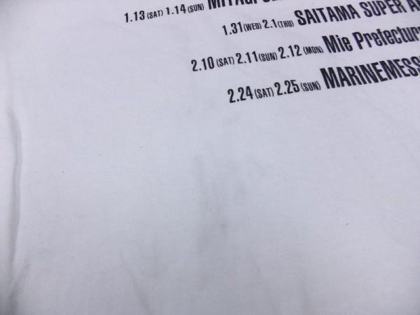 【送料240円】 EXILE THE SECOND LIVE TOUR 2017-2018 ROUTE66 ライブツアーグッズ エグザイル Tシャツ 白 メンズ サイズM_画像3