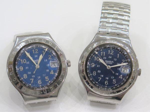 ◆SWATCH◆スウォッチ 腕時計 クォーツ おまとめ2点 ジャンク品 中古 保管品