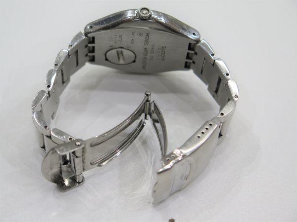◆SWATCH◆スウォッチ 腕時計 クォーツ おまとめ2点 ジャンク品 中古 保管品_画像4