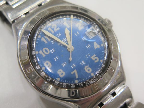 ◆SWATCH◆スウォッチ 腕時計 クォーツ おまとめ2点 ジャンク品 中古 保管品_画像2