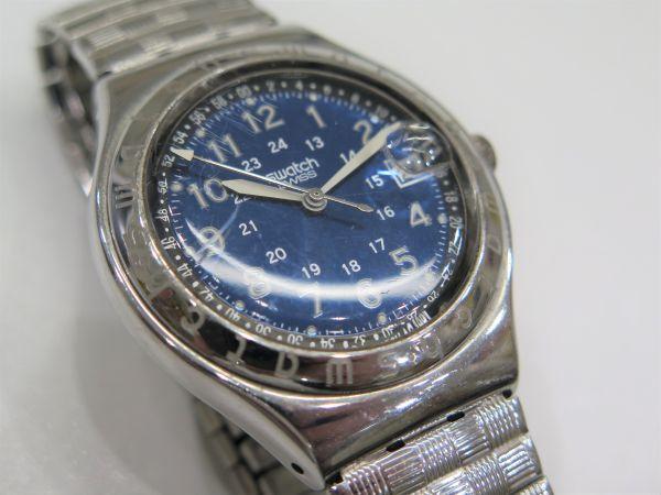 ◆SWATCH◆スウォッチ 腕時計 クォーツ おまとめ2点 ジャンク品 中古 保管品_画像7