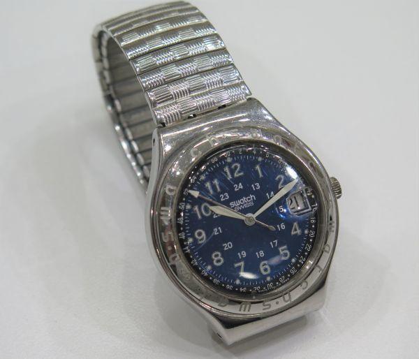 ◆SWATCH◆スウォッチ 腕時計 クォーツ おまとめ2点 ジャンク品 中古 保管品_画像6