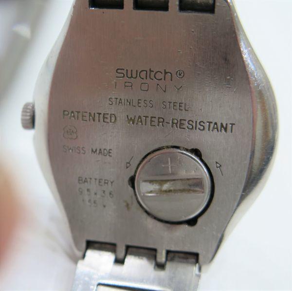 ◆SWATCH◆スウォッチ 腕時計 クォーツ おまとめ2点 ジャンク品 中古 保管品_画像3