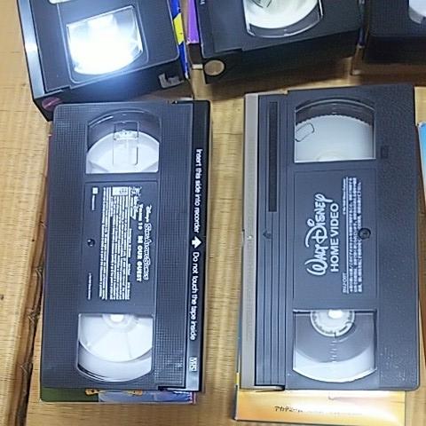 三びきの子ぶた 美女と野獣 ピーターパン 不思議の国のアリス 他 計7本 ビデオテープ VHS ウォルト・ディズニー アンティーク_画像7