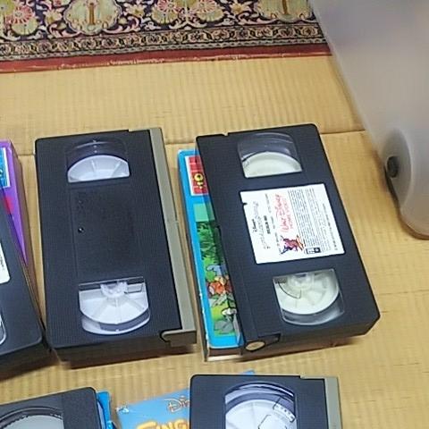 三びきの子ぶた 美女と野獣 ピーターパン 不思議の国のアリス 他 計7本 ビデオテープ VHS ウォルト・ディズニー アンティーク_画像6