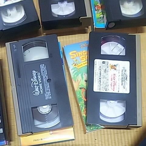 三びきの子ぶた 美女と野獣 ピーターパン 不思議の国のアリス 他 計7本 ビデオテープ VHS ウォルト・ディズニー アンティーク_画像8
