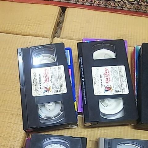 三びきの子ぶた 美女と野獣 ピーターパン 不思議の国のアリス 他 計7本 ビデオテープ VHS ウォルト・ディズニー アンティーク_画像5