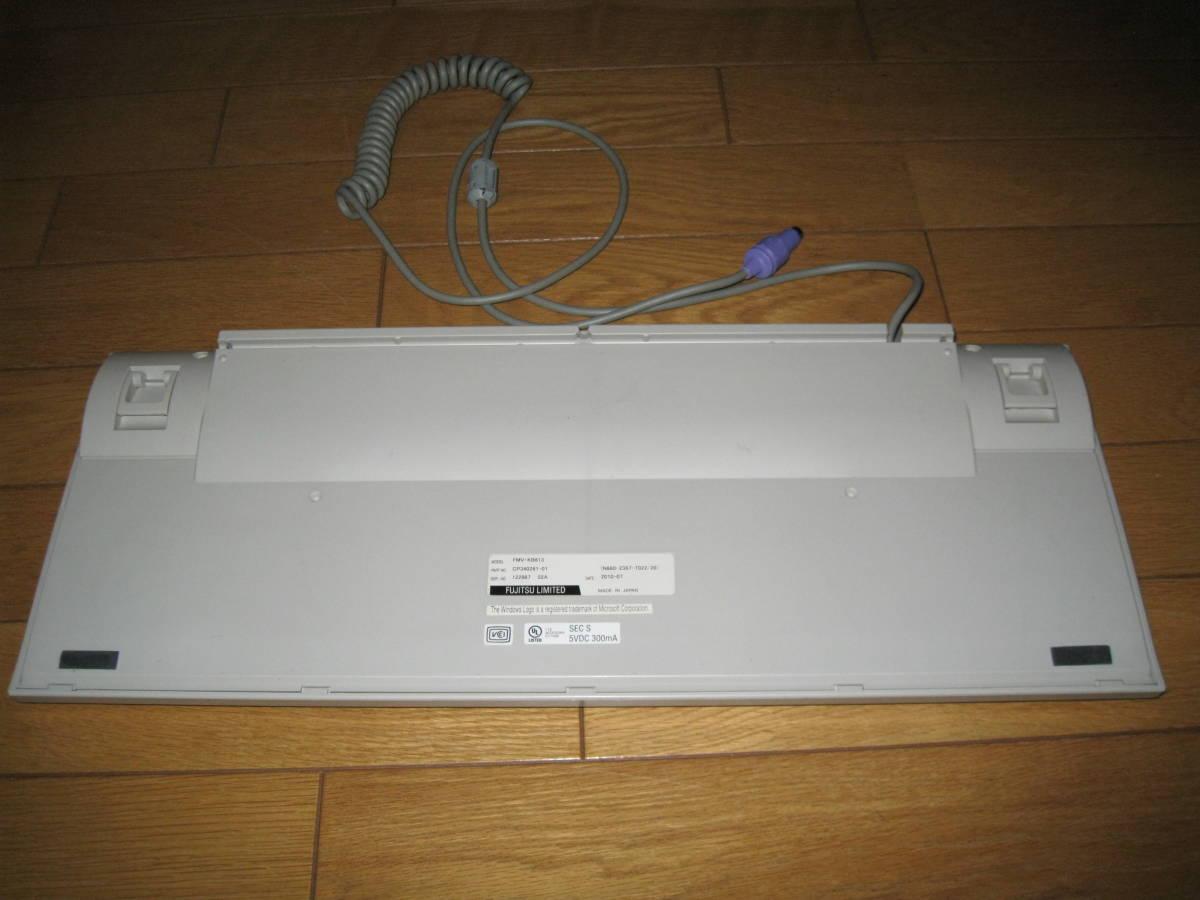 富士通 親指シフトキーボード FMV-KB613 + Japanist 10 セット_画像4