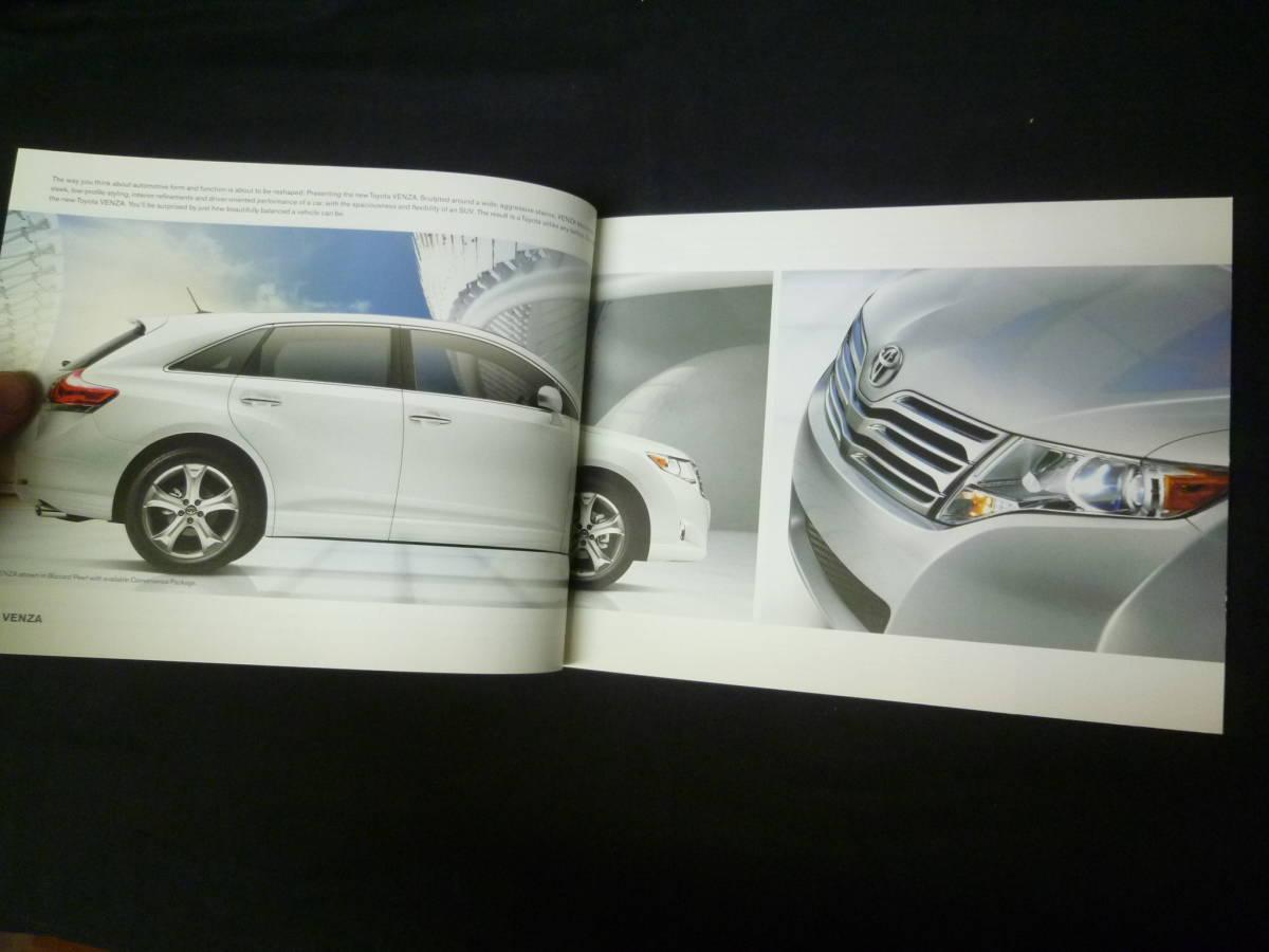 【輸出仕様】2009年モデルトヨタ 北米仕様 英語版 総合カタログ ~TOYOTA Motor Sales U.S.A 発行【当時もの】_画像2