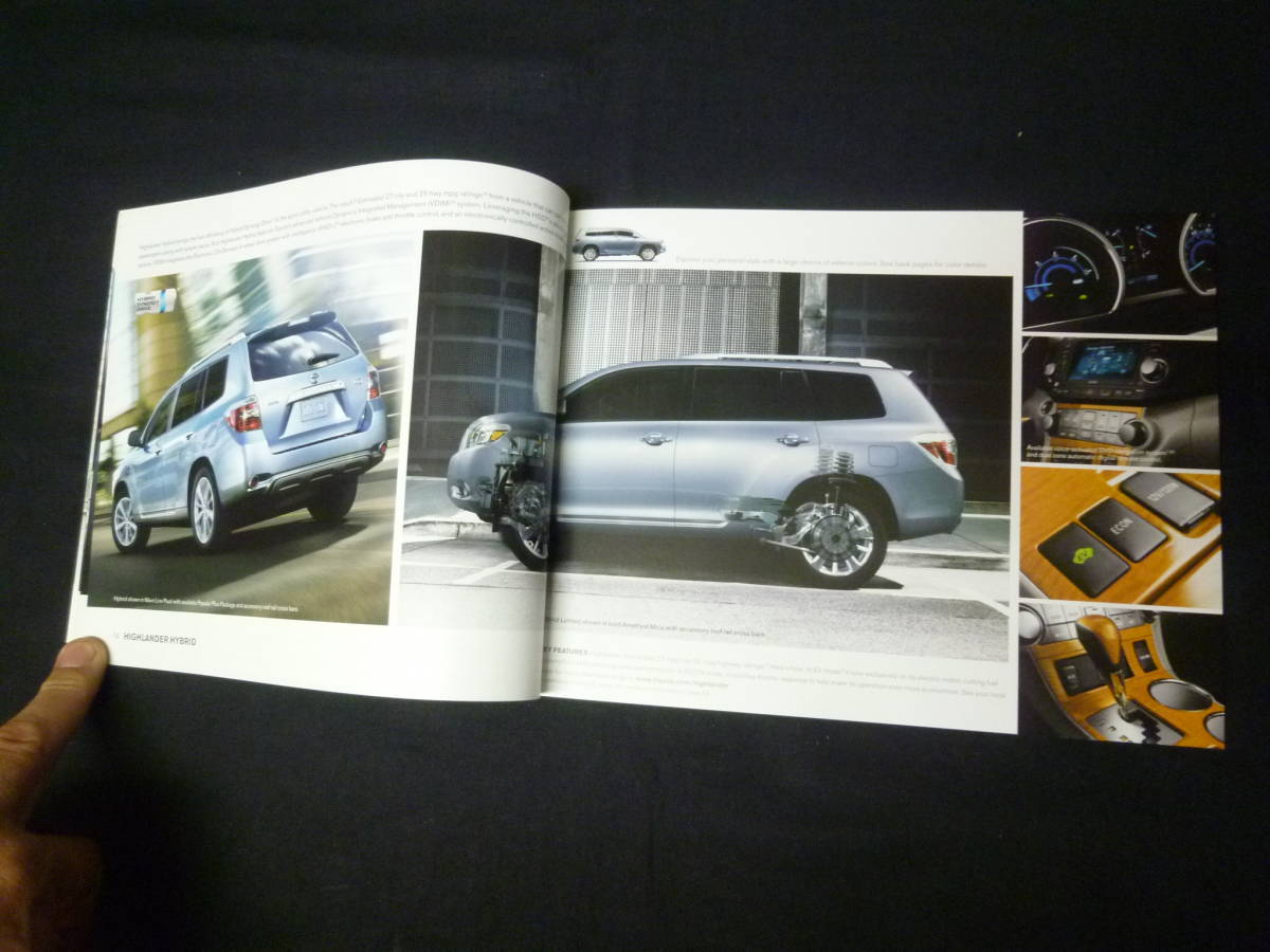 【輸出仕様】2009年モデルトヨタ 北米仕様 英語版 総合カタログ ~TOYOTA Motor Sales U.S.A 発行【当時もの】_画像5