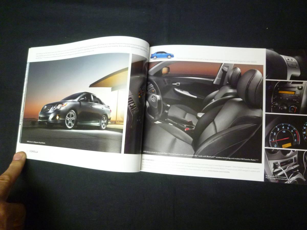 【輸出仕様】2009年モデルトヨタ 北米仕様 英語版 総合カタログ ~TOYOTA Motor Sales U.S.A 発行【当時もの】_画像8