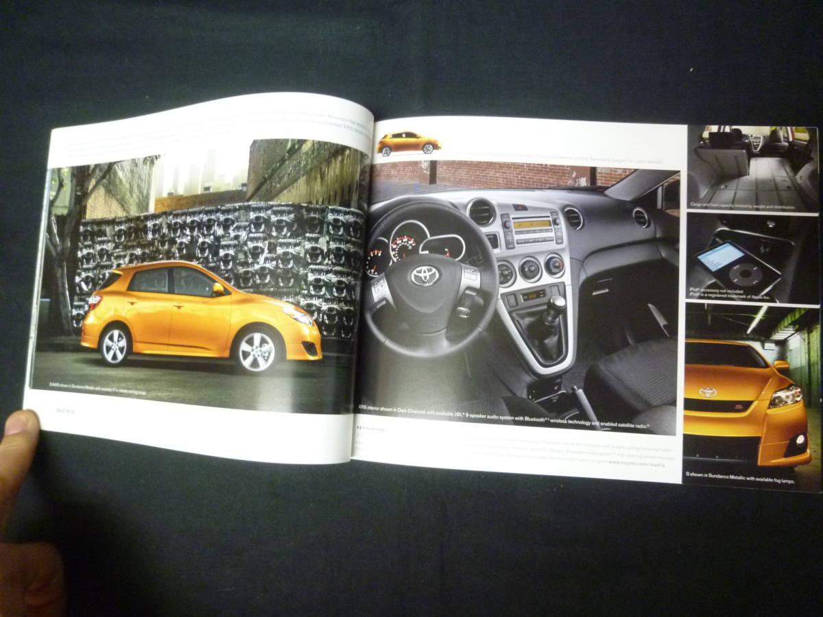【輸出仕様】2009年モデルトヨタ 北米仕様 英語版 総合カタログ ~TOYOTA Motor Sales U.S.A 発行【当時もの】_画像9