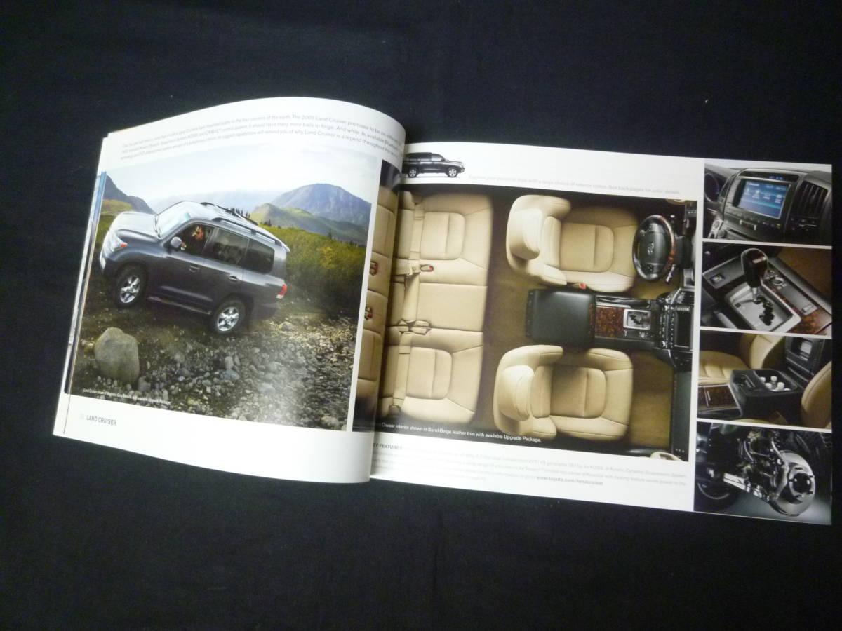 【輸出仕様】2009年モデルトヨタ 北米仕様 英語版 総合カタログ ~TOYOTA Motor Sales U.S.A 発行【当時もの】_画像10