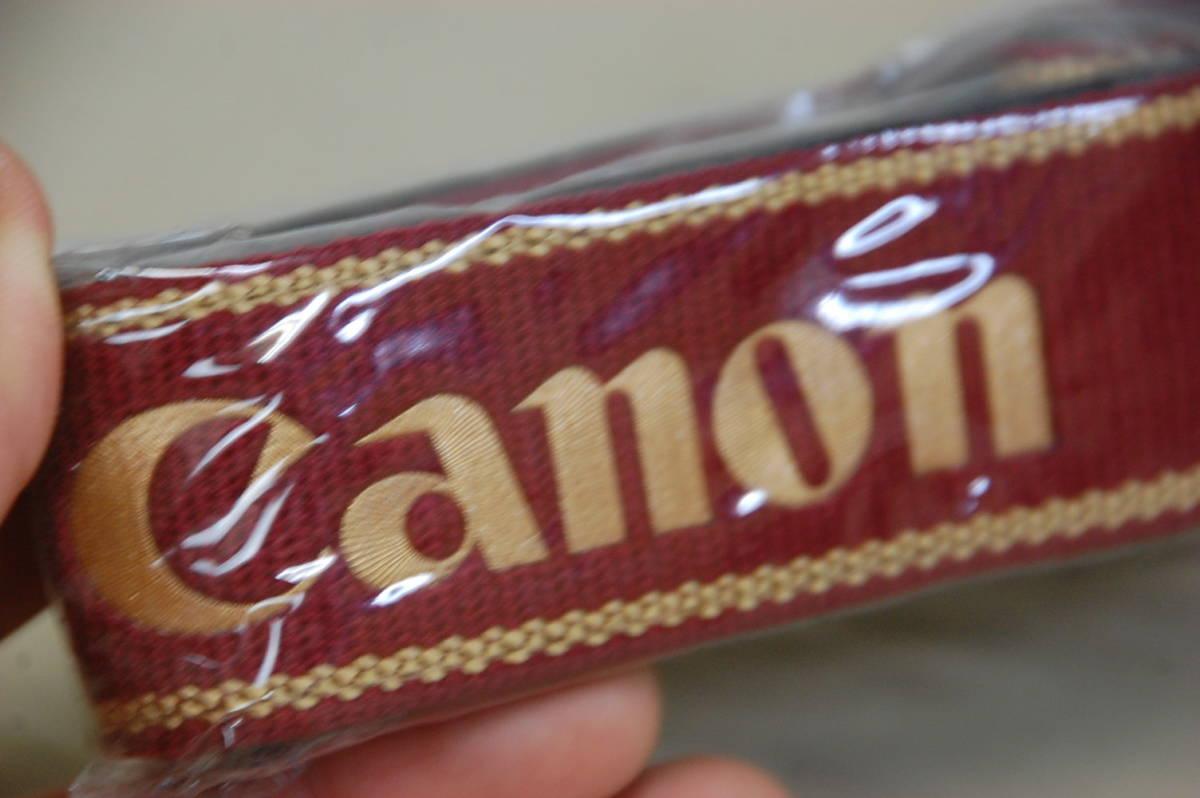 !#//貴重!! Canon for PROFESSIONAL VERSION カメラストラップ プロストラップ キャノン プロフェッショナル 未使用 未開封品_画像4