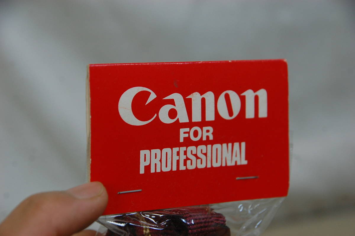 !#//貴重!! Canon for PROFESSIONAL VERSION カメラストラップ プロストラップ キャノン プロフェッショナル 未使用 未開封品_画像8