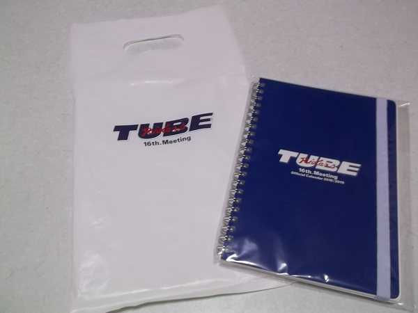 - TUBE チューブ 【 2018/2019カレンダー ♪新品 】 外袋付き♪_画像1