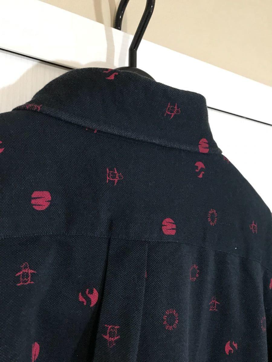 Munsingwear wear Munsingwear polo-shirt Golf wear - short sleeves men's 3L size made in Japan