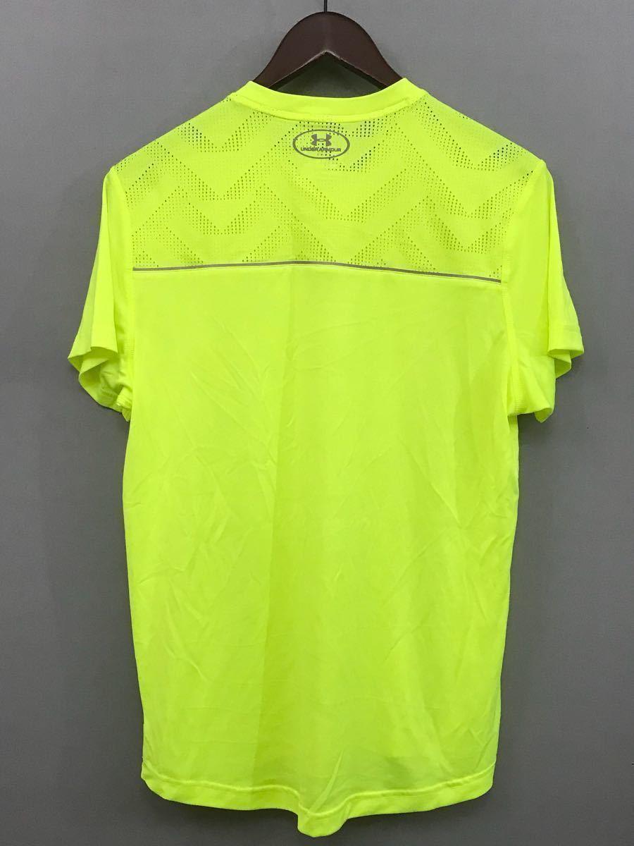 Under Armor UNDER ARMOUR [ superior article ] heat gear summer thing short sleeves running wear - sport wear - men's MD size