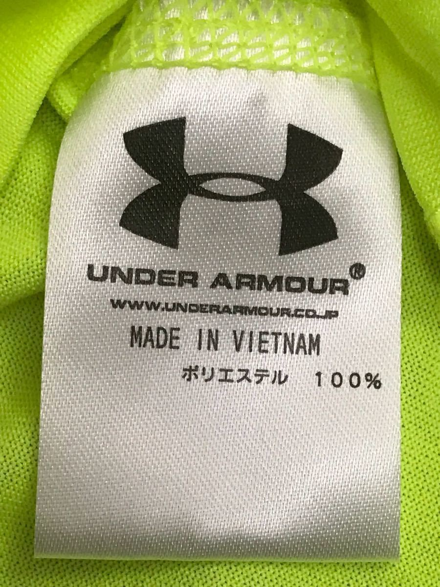Under Armor UNDER ARMOUR [ superior article ] heat gear summer thing short sleeves running wear - sport wear - men's MD size