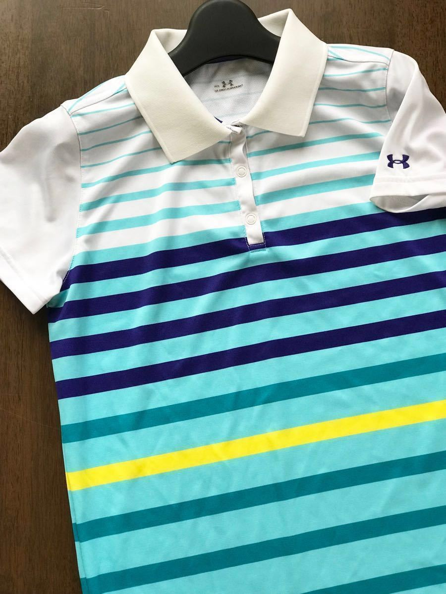 Under Armor UNDER ARMOUR lady's polo-shirt with short sleeves border