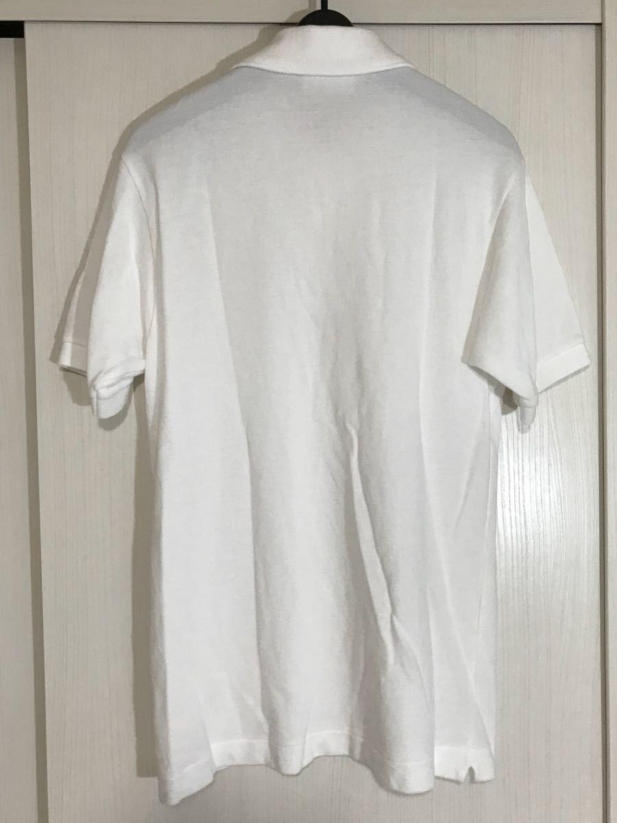 Lacoste LACOSTE polo-shirt short sleeves white group white series men's 3 size fashion clothes fa yellowtail ka