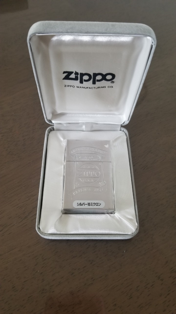 新品 激レア 入手困難 1stレプリカジッポーオイルライター ZIPPO ファースト ケース付き コレクションアイテム