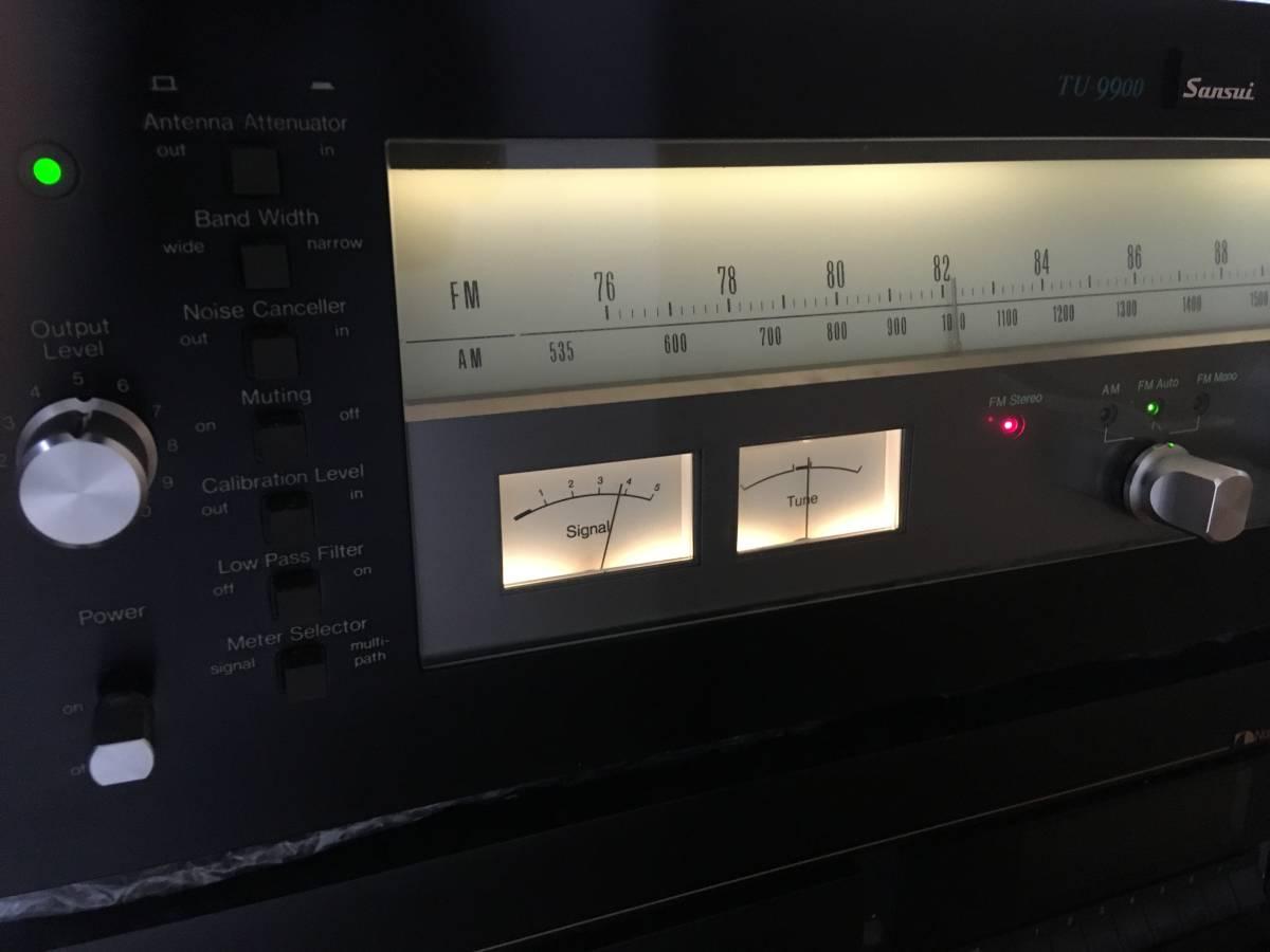 SANSUI TU-9900 サンスイ FM/AMチューナー