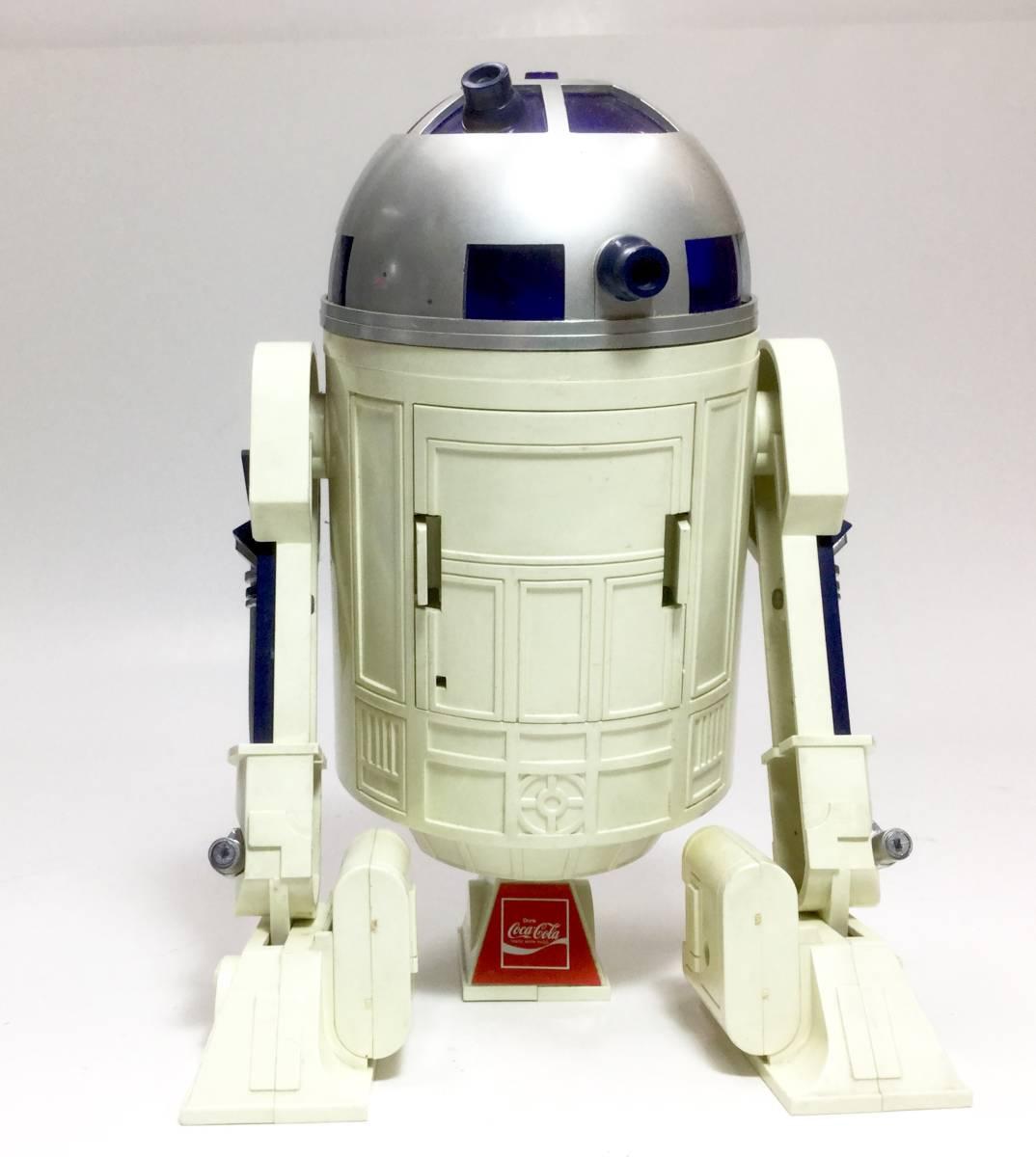 R2-D2 ラジオ 作動品 スターウォーズ 1977年版 コカコーラ 懸賞品 非売品 レトロ ビンテージ _画像7